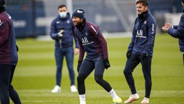 Neymar Jr Injury Update: Brazilian Returns To Training Ahead of Barcelona Clash in UCL 2020-21