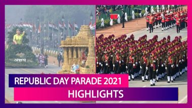 Highlights Of Republic Day Parade 2021: Ladakh Makes Debut, COVID-19 War On Display, Culminates With Rafale Carrying Out A 'Vertical Charlie'