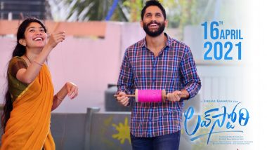 Sai Pallavi And Naga Chaitanya's 'Love Story' To Release In Theatres On April 16!