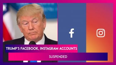 Donald Trump's Facebook, Instagram Accounts Suspended Till The President's End Of Term; Allowed Back Onto Twitter