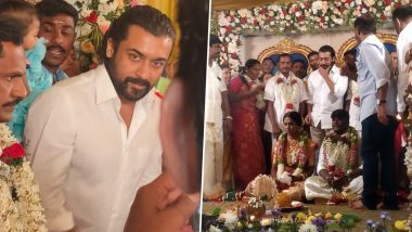 Suriya Attends A Fan's Wedding Ceremony And Netizens Can't Contain Their Happiness Seeing His Presence At The Event!  (View Pics)