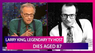 Larry King, Broadcasting Giant & Legendary TV Host, Dies Aged 87