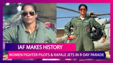 Republic Day 2021: IAF Makes History As Two Women Fighter Pilots & Rafale Jets Feature In Republic Day Flypast