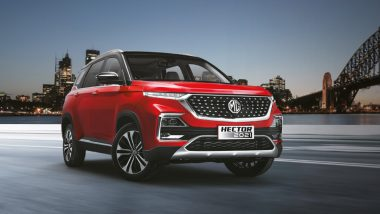 2021 MG Hector Facelift Launched in India from Rs 12.89 Lakh; Check Price, Bookings, Features & Specifications Here