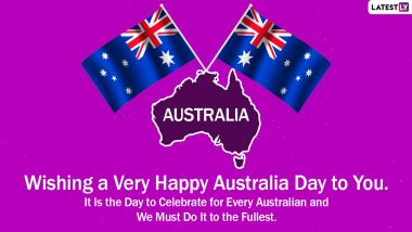 Australia Day 2021 Messages and HD Images: WhatsApp Stickers, Signal Wishes, Facebook Greetings, Telegram Photos and GIFs to Share on Australia's Foundation Day