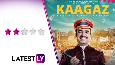 Kaagaz Movie Review: A Sincere Pankaj Tripathi Struggles To Hold Your Attention in This Kitschy Satire (LatestLY Exclusive)