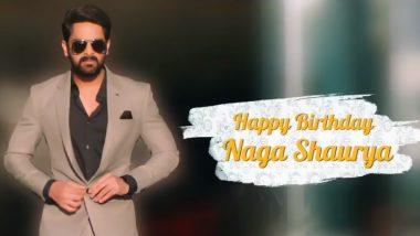Naga Shaurya's Look From Varudu Kaavalenu Revealed On His Birthday! Film To Release In May 2021 (Watch Video)