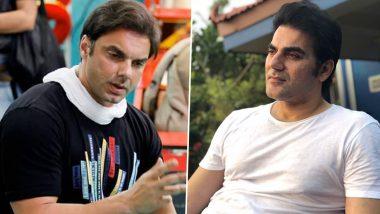 Arbaaz Khan, Sohail Khan and Son Nirvaan Khan Booked for Violating COVID-19 Norm After Their Return From Dubai
