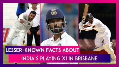 India's Historic Test Win at Gabba In Brisbane: Lesser-Known Facts About The Winning Playing XI