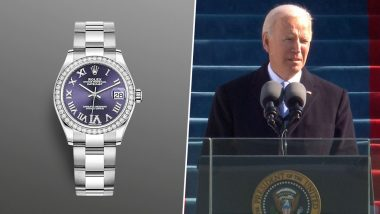 Joe Biden Wore a Rolex to His Inauguration and Netizens Can't Stop Comparing Its Price with The Amount Donald Trump Used to Pay off Stormy Daniels!