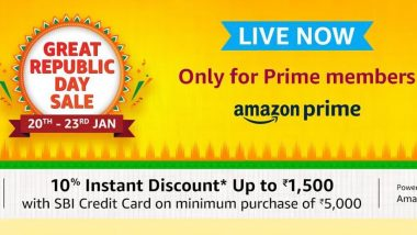 Amazon Great Republic Day Sale 2021 Live For Prime Members: Offers & Discounts on iPhone 12 Mini, Samsung M02s, Redmi 9 Power, Galaxy M31s