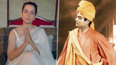 Swami Vivekananda's 158th Birth Anniversary: Kangana Ranaut Pays Heartfelt Tribute to Her 'Guru'