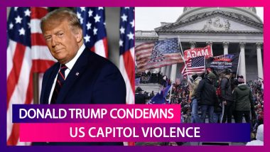 US Capitol Violence: Donald Trump Condemns It, Says Transition Will Be Orderly; Joe Biden Highlights Police Response