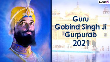Guru Gobind Singh Ji Prakash Parv 2021 Images and Greetings: WhatsApp Messages, Prakash Utsav Photos, SMS, Quotes, Status and GIFs To Send on His 354th Birth Anniversary