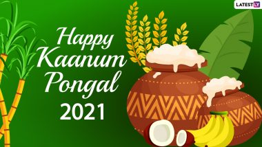 Kaanum Pongal 2021 Wishes, Messages and HD Images: WhatsApp Stickers, Telegram Greetings, Pongal Photos and GIFs to Celebrate the Tamil Harvest Festival