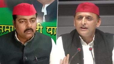 'COVID-19 Vaccine Might Contain Something...Can Even Become Impotent': SP MLC Ashutosh Sinha Adds to Doubt Stoked by Akhilesh Yadav