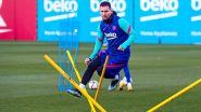 Lionel Messi Included in Barcelona Squad For Rayo Vallecano Clash After Completion of Two-Game Ban