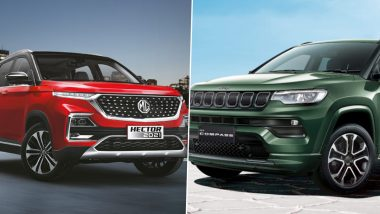 2021 Jeep Compass Facelift & MG Hector Facelift 2021: Features & Specifications