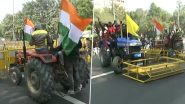 Farmers' Tractor Rally Against Farm Laws: Delhi Police Issues Traffic Advisory; Check List of Roads Closed And Diversions Due to Ongoing Agitation