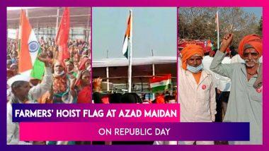 Farmer Protest At Azad Maidan In Mumbai, Hoist Flag On Republic Day After Dharna Against The Farm Laws