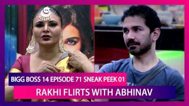 Bigg Boss 14 Episode 71 Sneak Peek 01 | Jan 8 2020: Abhinav Helps Rakhi Drape A Saree