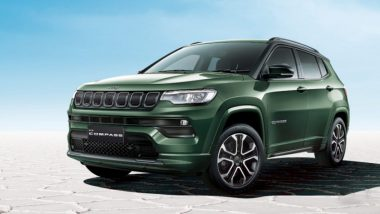 2021 Jeep Compass Facelift Launched in India From Rs 16.99 Lakh; Check Prices, Features & Specifications Here