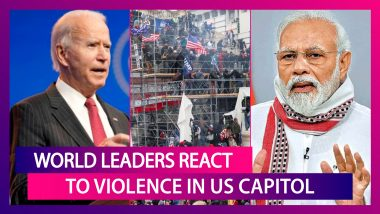 Joe Biden Says 'Enough', World Leaders React To Violence In US Capitol, Condemn 'Assault On Democracy'