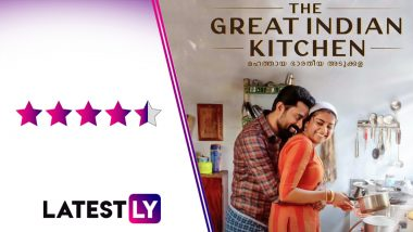The Great Indian Kitchen Movie Review: Nimisha Sajayan, Suraj Venjaramoodu's Social Drama, Now Streaming on Amazon Prime Video, Is Brilliant! (LatestLY Exclusive)
