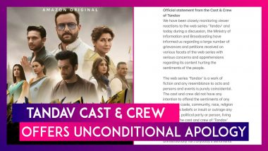 Tandav Cast & Crew Offers Unconditional Apology After Complaint In Uttar Pradesh, Shivraj Singh Chouhan Meets Prakash Javadekar