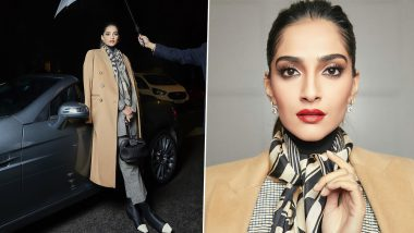 Sonam Kapoor Is All Things Bawsy and Glamorous In Her Bhaane Separates (View Pics)