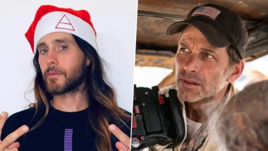 Jared Leto Supports Zack Snyder on Justice League's Snyder Cut, Calls Him a 'Madman' (Watch Video)