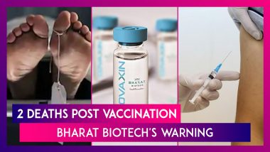 Two Deaths Post Vaccination, Centre Says Not Linked While Bharat Biotech Says Those With Medical Conditions Should Not Take Covaxin