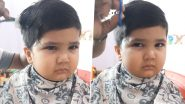 Anushrut, Little Boy Whose Hair Cutting Video Went Viral, Is Back, Hilarious Clip of the Toddler Sulking on Getting Another Trim Has Left the Internet in Splits