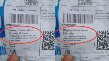 Salim Lala's Flipkart Delivery Address Going Viral Is Photoshopped! Here's the Original Bizarre Address That Surfaced Online Few Months Ago