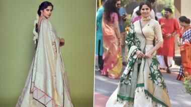 Sai Tamhankar is a Quintessential Bridesmaid in Her Newest Fashion Outing (View Pics)