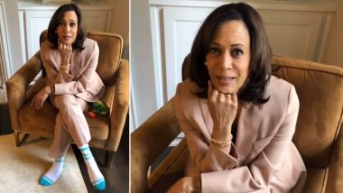 Kamala Harris Wears 'The Future Is Female' Socks and Social Media Feels Empowered! Here's Where You Can Buy the Beautiful Pair