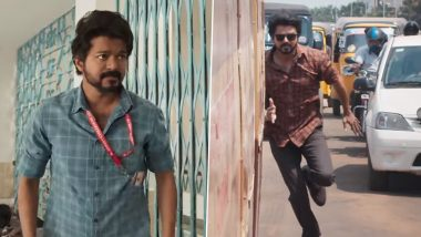 Master Song Vaathi Raid Promo: Thalapathy Vijay Pulls Off Impressive Action Sequences In the Anirudh Ravichander Song (Watch Video)