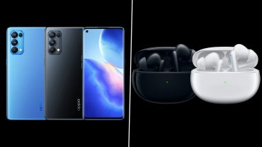 Oppo Reno5 Pro & Enco X Wireless Earbuds Launched in India; Check Prices, Features & Specifications Here