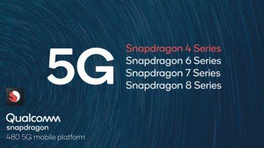 Qualcomm Snapdragon 480 5G Chipset for Affordable Smartphones Announced