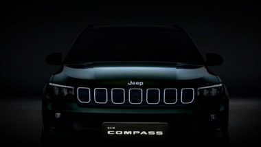 2021 Jeep Compass Facelift to Be Unveiled Today, Watch LIVE Streaming of the Event Here