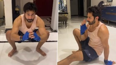 Varun Dhawan Shares Video Doing Animal Flow Exercise, Says It Helped Him Regain Stamina After Recovering from COVID-19