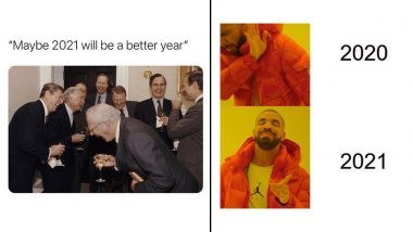 'New Year, New Meme!' Hilarious Memes and Jokes Take Over Social Media As Perfect Start to 2021, You Can't Miss These Funny and Oh-So Relatable Reactions