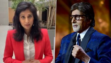 Gita Gopinath's 'Fangirl' Moment:  IMF's Chief Economist Shares Video of Amitabh Bachchan Praising Her During KBC, Says 'I Don't Think I Will Ever Get Over This'