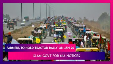 Protesting Farmers To Hold Tractor Rally On January 26, Slam Govt For NIA Notices Sent To Kisan Union Leaders; SC Says Cops To Decide On Farmers Entering Delhi