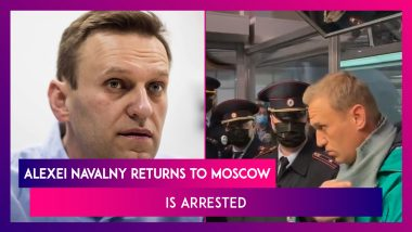 Alexei Navalny Returns To Moscow After Recovering From Novichok Poisoning, Is Arrested At The Airport