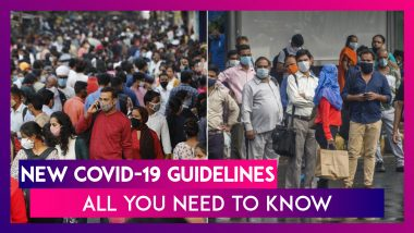 New COVID-19 Guidelines: MHA Issues New Rules For Theatres, Swimming Pools & Gatherings To Be Followed From February 1