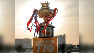 Abu Dhabi T10 League 2021 Schedule, Live Streaming Online, TV Telecast, Teams, Groups and Everything You Need to Know About the T10 Tournament