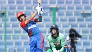 AFG vs IRE 2nd ODI 2021 Live Streaming Online and Match Timings in India: Get Afghanistan vs Ireland Match Free TV Channel and Live Telecast Details