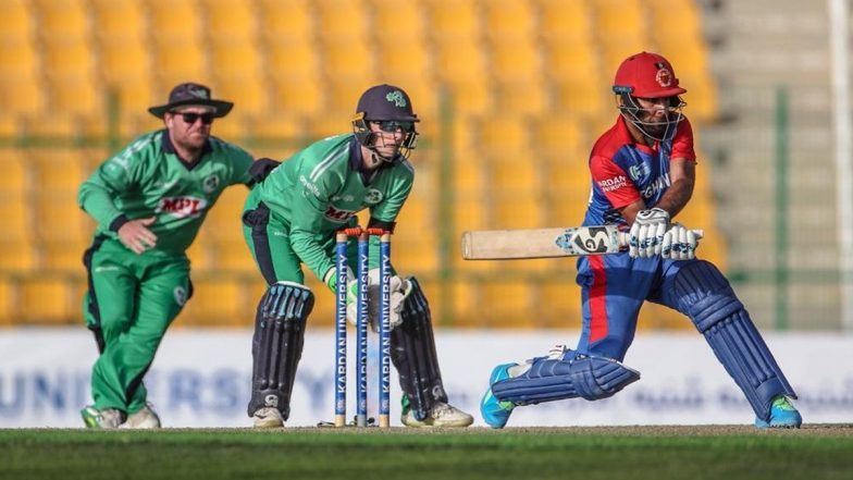 AFG vs IRE 3rd ODI 2021 Live Streaming Online and Match Timings in India: Get Afghanistan vs Ireland Match Free TV Channel and Live Telecast Details