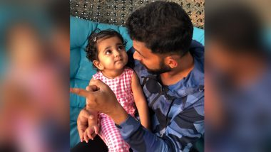 Ajinkya Rahane Spends Quality Time With His 'Favourites' After Returning Home, Shares Cute Pic With Daughter Aarya (See Post)